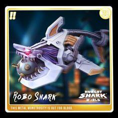 Robo Shark is hungry! Monster Shark, Shark Games, All Sharks, Hunter S, Animal Games, Shark Week, Evolution, Geek, Atlantis