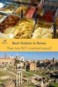 Best Gelato in Rome - 2018 Version