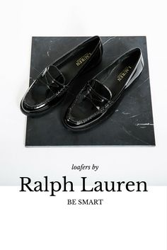 Black patent loafers are a staple. Don't shove them to the back of your upcoming winter wardrobe, show them off for summer with a cool pair of culottes for that smart casual vibe you're after.