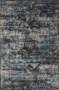 Momeni Rugs Contemporary Area Rug Juliet Collection JU-02 Charocal 8'6'x11'6', Grey
