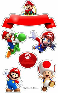 - Oh My Fiesta! for Geeks Super Mario Bros, Super Mario Party, Super Mario Brothers, Mario Bros Cake, Bolo Do Mario, Bolo Super Mario, Mario Birthday Cake, Super Mario Birthday, Mario Und Luigi