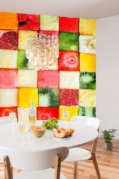 #owoce #soczyście #fototapeta #interior design