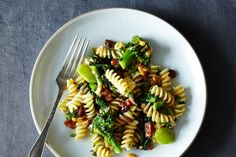 The Splendid Table's Pasta with Two Broccolis and Raisin-Pine Nut Sauce recipe on Food52