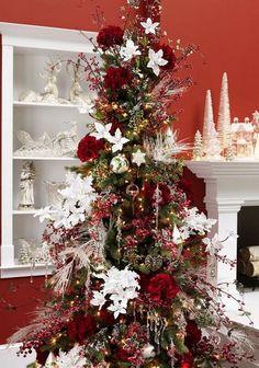 RAZ 2013 Ice Garden Christmas Tree #1