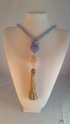 UK Donna Lusso Designer Rosa//Grigio Dichiarazione Collana Orecchini Set Gioielli
