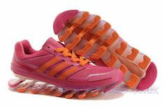 pretty nice dfe57 c6496 Adidas Springblade Women Running Shoes Pink Orange Adidas Boost, Adidas  Nmd, Adidas Shoes Women