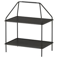 IKEA - YPPERLIG, Zeitschriftenregal, Geringes Gewicht; leicht zu versetzen.Praktisch für Bücher oder kleine Dinge, die man am Schreibtisch gern zur Hand hat.