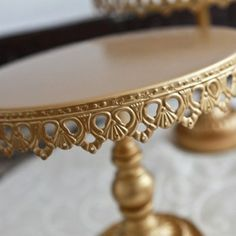 Gorgeous Gold Cake Stands for Sale wedding Gold Cake Stands