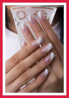 would also be pretty with dotting tool (more practical) for every day wear