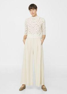 Blusa lino | MANGO