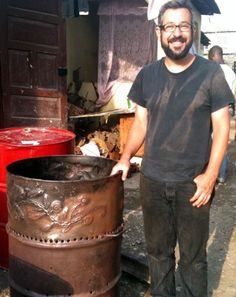 WorldStove founder Nathaniel Mulcahy has just completed two months of work in Haiti, setting up a pilot project that will provide biochar-producing stove...