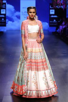 Shop from an exclusive range of luxurious wedding dresses & bridal wear by Anita Dongre. Buy now. Indian Wedding Outfits, Indian Outfits, Indian Clothes, Lakme Fashion Week, Runway Fashion, Indian Ethnic Wear, Indian Style, Kalamkari Saree, Lehenga Choli