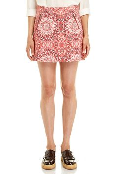 JAG - Tapestry Print Mini Skirt