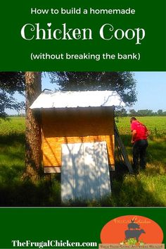 Step-by-step plans to build a chicken coop or tractor for 4-5 chickens. Lots of photos, easy to follow directions. From FrugalChicken: