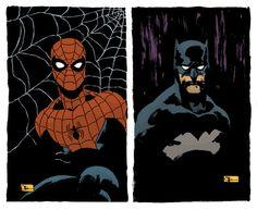 Spider-Man & Batman Retro