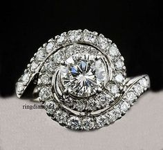 Gemstone Fine Jewelry Fashion Style 1.48 Ct Off White Yellow Moissanite Engagement Ring 925 Sterling Silver