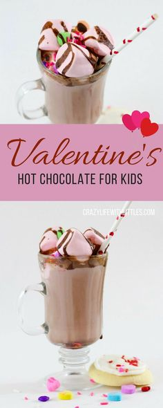 Treat your little Valentine's to the sweetest pink hot chocolate! homemade hot chocolate, pink hot chocolate, valentine's day drinks for kids, valentine's ideas for kids Birthday Party Ideas Starbucks Pink Drink Recipe, Pink Drink Recipes, Pink Starbucks, Valentine's Day Drinks, Pink Drinks, Birthday Party Drinks, Little Valentine, Valentine Party, Make Coconut Milk