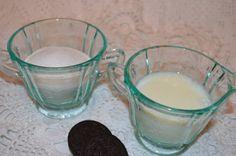 Aqua blue Depression glass Cream and Sugar by Cyndirellas on Etsy, $30.00