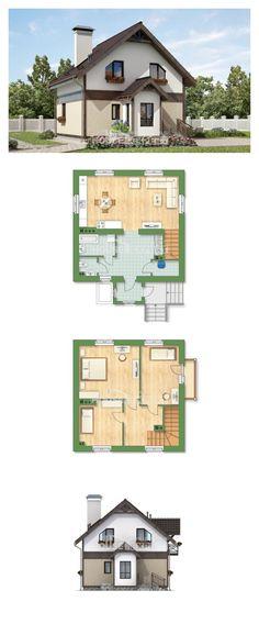 Ev villa projesi 105-001-R | House Expert