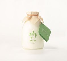 Forest Milk  Packaging Design