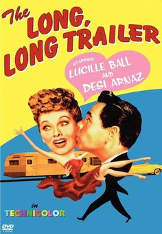 The Long Long Trailer 11x17 Movie Poster (1954)
