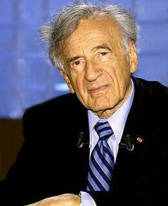 """Eliezer """"Elie"""" Wiesel 9/30/1928-7/2/2016 """"I swore never to be silent whenever and wherever human beings endure suffering and humiliation. We must always take sides. Neutrality helps the oppressor, never the victim. Silence encourages the tormentor, never the tormented."""" His memory will forever be a blessing!!"""