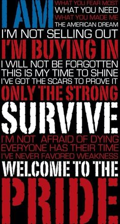 The Pride lyrics by Five Finger Death Punch