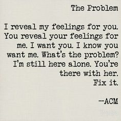 Poetry: The Problem by ACM