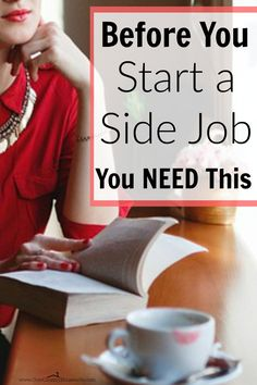 I never even thought of this! It's really easy only to think about making more money that you forget that there's more to a side job than just money. Great points and ideas! Before You Start A Side Job, You NEED This...