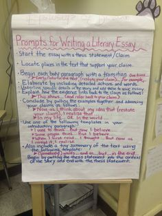 two reflective teachers a peek into our literary essay unit prompts for writing literary essay