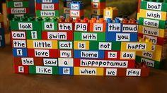 Sight word lego