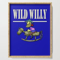 wild willy Serving Tray by edream Tamiya, Cute Gifts, Tray, Beautiful Gifts, Trays, Board