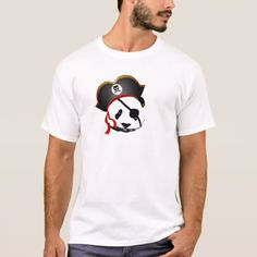 Pirate panda T-Shirt - click to get yours right now!