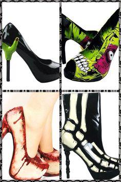 Zombie shoes  I love it
