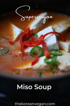 Vegan Stew, Vegan Soups, Tofu Recipes, Crockpot Recipes, Gluten Free Soup, K Food, Miso Soup, Big 5, Soups And Stews