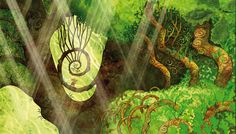 Artwork from the movie The Secret of the Kells