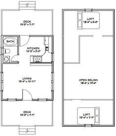 16x20 cabin floor plans tiny houses pinterest cabin for 16x20 floor plans