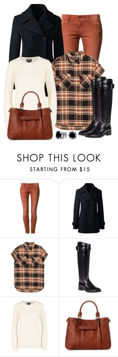 """""""Untitled #1579"""" by gallant81 ❤ liked on Polyvore featuring D. Brand, Lands' End, H&M, Tory Burch, Longchamp and Bling Jewelry"""
