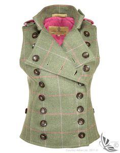 LiBErty FREEdom Libertine Waistcoat - Mosside Tweed