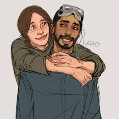 I need everyone to be nice to Bodhi :3 #stillidontknowhowtodrawgirlsfaces #starwars #rogueone #bodhirook #jynerso