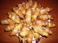 Kelesztés nélküli lekváros kifli Romanian Food, Romanian Recipes, Sweet And Salty, Pretzel Bites, French Toast, Muffin, Paleo, Potatoes, Bread