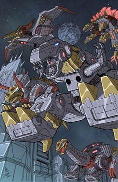 FOC dinobots colors low res by BDixonarts.deviantart.com on @deviantART