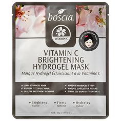 A pore-minimizing hydrogel mask with a high concentration of vitamin C, antioxidants, peptides, and plant extracts combined with marine collagen to assist with tightening, lifting, brightening, and toning the skin. #Sephora