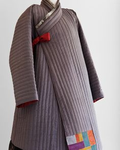 누비 두루마기 #누비 #겨울한복 #한복 #맞춤한복#김복희 #바느질풍경 #sewinglandscape #dress #clothes