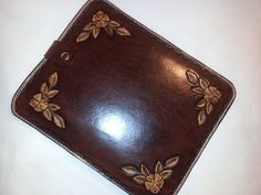 Hand Tooled Leather Tablet Case for iPad Samsung by craftomania, $39.95