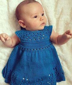 Knitting Pattern Lily Rose Dress