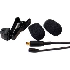 Que Audio Omnidirectional Lavalier Microphone Black -45dB Sensitivity -DA04 BL 2 #QueAudio