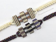 Carrier bead kumihimo bracelet