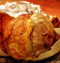 Balut - premature duck egg. They say its good but Ive never tried it.
