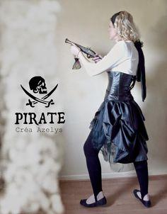 idée de costume pour pirate girly